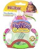 Nuby Flip N' Sip Cup - lime/pink, one size