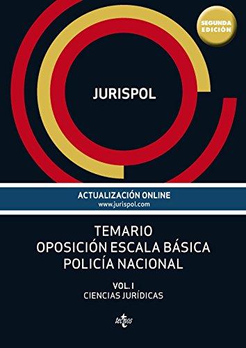 TEMARIO OPOSICION ESCALA BASICA POLICIA NACIONAL  descarga pdf epub mobi fb2