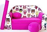 H17Niños Bar Dormir emergente sofá sofá sofá Mini sofá 3en 1Baby Set +-Sillón infantil y asiento cojín + colchón