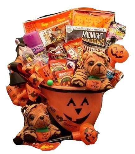 [Frightfully Fun Trick or Treat Halloween Gift Basket for Boys and Girls | Treats and Toys for] (Halloween Costumes Gallery)