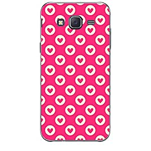 Skin4gadgets HEART Pattern 10 Phone Skin for SAMSUNG GALAXY J2