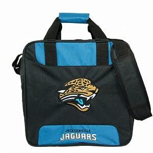 NFL Single Bowling Bag- Jacksonville Jaguars by KR Strikeforce Bowling Bags