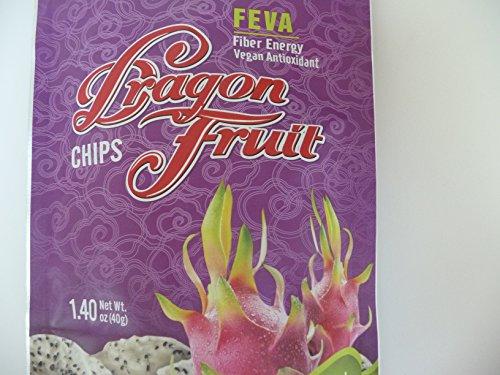 Dragon Fruit Chips- Fiber Energy Vegan Antioxidant-All Natural