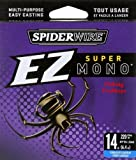 Spiderwire EZ Mono 220-Yard Spool (Fl. Clear Blue, Pound Test 14)