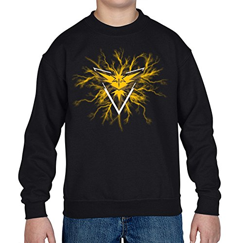 Pokemon-Go-Team-Yellow-Instinct-Thunder-Sudadera-Kids