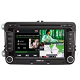 Koolertron For VW GOLF Passat CC Golf Tiguan Touran Caddy Jetta Polo SEAT SKODA Octavia Car DVD GPS Navigation With 3 Zone POP 3G/WIFI/20 Disc CDC/ DVD Recording/ Phonebook / Handsfree Bluetooth / DVB-T / TMC (Free navi maps)