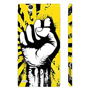 Sony Xperia C4 Pump Revolution designer mobile hard shell case by Enthopia