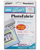 PhotoFabric Cotton Poplin Fabric Sheets (5 feuilles)