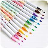 Creative design korea stationery mini multicolour pen 0.5mm resurrect water-based pen 10 different color