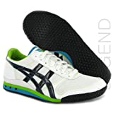 Onitsuka Tiger Ultimate-81 White Black Leather Womens Trainers Size 5 US