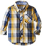 Kitestrings Baby Boys' Plaid Woven Button Front Shirt