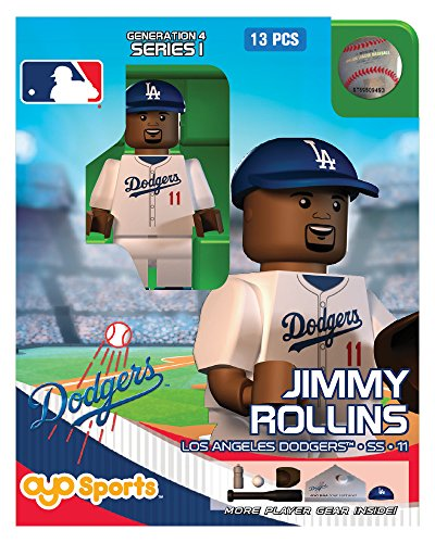 Jimmy Rollins OYO MLB Los Angeles Dodgers G4 Series 1 Mini Figure Limited Edition