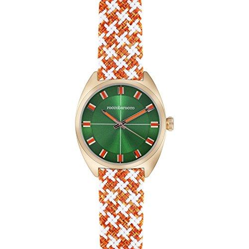 orologio solo tempo unisex RoccoBarocco Pied De Poule trendy cod. RB0087