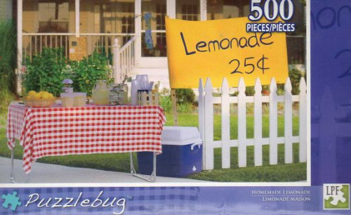 Homemade Lemonade - Puzzlebug -500 Pc Jigsaw Puzzle - NEW - Puzzlebug