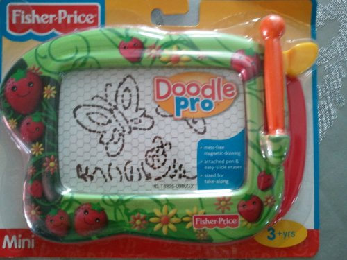 Fisher Price Kid Tough Doodler Doodle Mini (Blue Checker with Hearts)