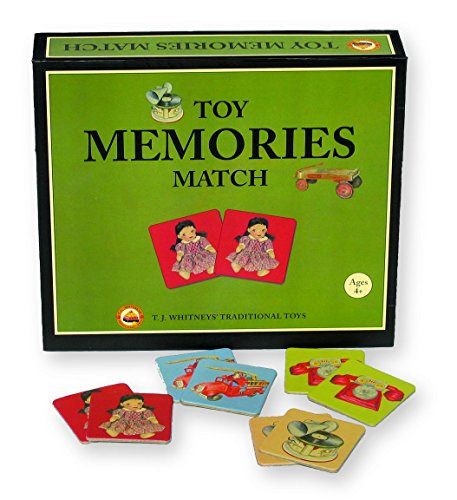 Toy Memories Match Game featuring T.J. Whitneys Tradional Toys