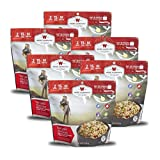 6ct Pack - Outdoor Teriyaki Chicken & Rice - 2 Serving Pouch Camping,hiking,travel