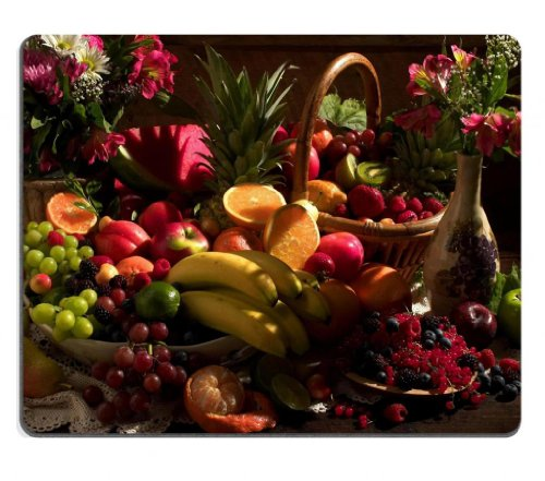 fruits-food-summer-harvest-bananas-oranges-lemon-pears-mouse-pads-customized-made-to-order-support-r