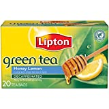 Lipton  Green Tea, Decaffeinated Honey Lemon 20 ct