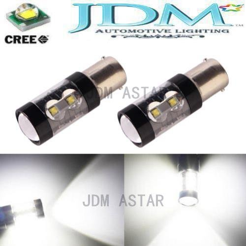 Jdm Astar Extremely Bright Max 50W High Power 1157 2057 2357 7528 Cree Led Bulbs ,Xenon White