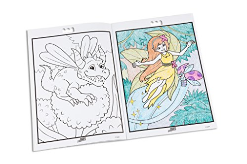 crayola color alive action coloring pages enchanted forest toys games toys art drawing toys toy drawing tablets - Crayola Color Alive Special Pages