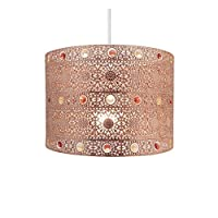Moroccan Style Chandelier Copper Ceiling Light Shade Fitting Universal from Beamfeature
