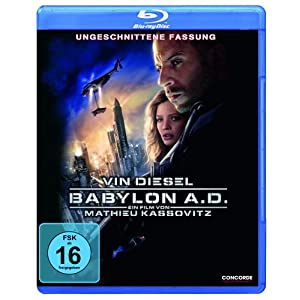 Babylon a.d.(Blu-Ray) [Import allemand]