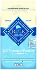 Blue Buffalo Dry Food for Puppies, Chicken and Rice Recipe, 30-Pound Bag