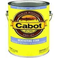 Cabot Silver Gray Weathering Exterior Stain-SIL GRY WEATHERING STAIN