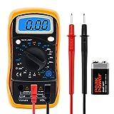 Volmate Digital LCD Voltmeter Ammeter Ohmmeter Multimeter Volt...