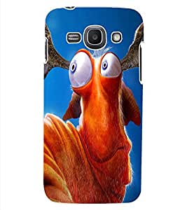 ColourCraft Funny Creature Design Back Case Cover for SAMSUNG GALAXY ACE 3 LTE S727