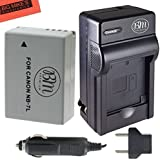 BM Premium NB-7L Battery & Charger Kit Canon PowerShot G10 G11 G12 SX30 IS Digital Camera