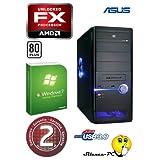 ANKERMANN-PC Silent Office GT AMD FX-4100 (4x3,60 GHz) | ASUS ENGT520 SILENT/DI/1GD3 | 8GB RAM DDR3 | 1TB HDD...