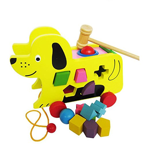 skk-baby-wooden-pull-along-puppy-with-with-shape-sorter-and-hammer-ball-for-toddler-kids