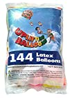 144 Balloons! Packages of 12″ Helium Quality Latex Metallic Balloons in 10 Vibrant Colors from…
