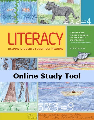 Coursemate Online Study Tool Access To Accompany Cooper'S Literacy: Helping Students Construct Meaning [Instant Access] front-861080