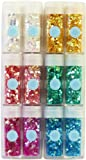 Martha Stewart Crafts Iridescent Glitter, 12-Pack
