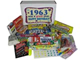 60s Retro Candy Decade 50th Birthday Gift Box Jr. Nostalgic Candy 1963