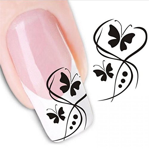 1-Sheets-Excellent-Popular-Hot-New-Nail-Art-Stickers-Black-Decals-Flower-Stick-Polish-Tools-Type-Code1166