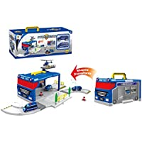Toys Bhoomi Transform Police Station DIY Play Set