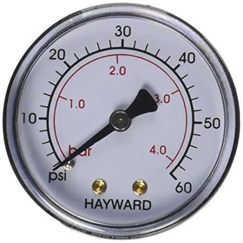 Hayward ECX27091 Back Mount Pressure Gauge Replacement for Select Hayward Filter (De Filter Pressure Gauge compare prices)