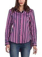 SIR RAYMOND TAILOR Camisa Mujer (Rosa / Azul)