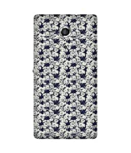 White Roses Sony Xperia Sp Case