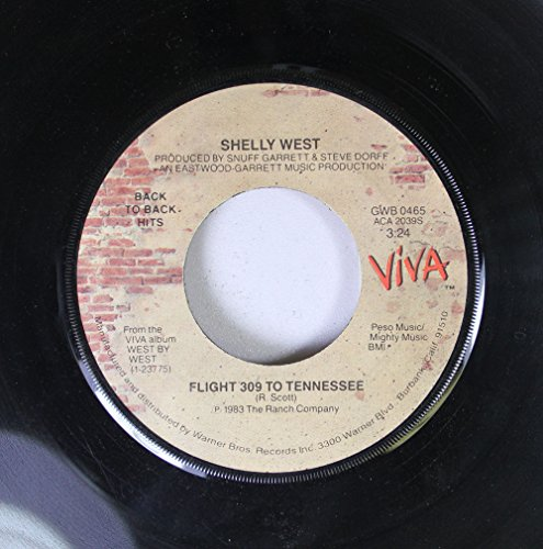shelly-west-45-rpm-flight-309-to-tennessee-jose-cuervo