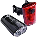 VeloChampion Bike Lights USB Rechargeable Front and Rear Set