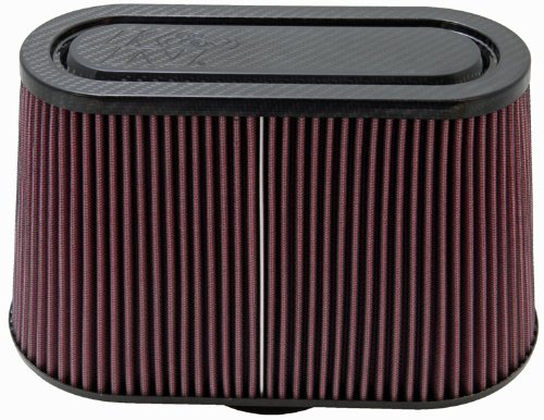 K&N RP-5103 Universal Air Filter - Carbon Fiber Top
