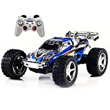 Babrit RC Car 4WD 1:32 Scale Remote Control Electric Racing Car High Speed Vehicle with Rechargeable Battery