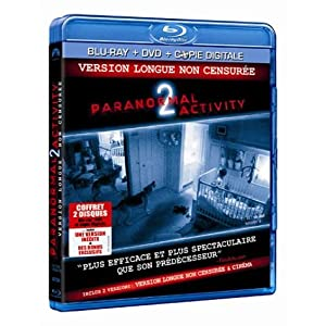 Paranormal Activity 2 [Combo Blu-ray + DVD + Copie digitale]
