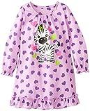 Komar Kids Big Girls'  Zebra Night Gown