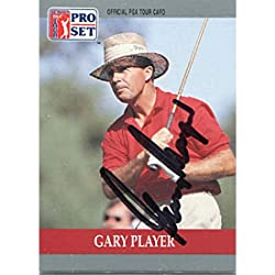 Gary Player Autographed/Signed 1990 Pro Set Card